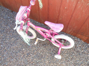 "Disney Princess 14"" Bike with Training Wheels"