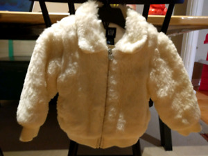 Baby Gap Fuzzy Jacket - size 18 to 24 months
