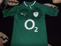 ireland rugby union pro shirt large puma