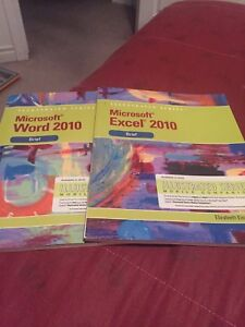 Microsoft word and excel 2010