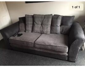 Scatter back Cord 4 Seater sofa