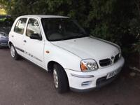 2001 Nissan Micra Auto. Nice Drive. Mot. Tax