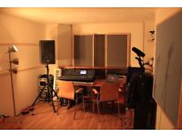 X Large band rehearsal / music production studio for monthly hire BN41 Fort Rockaville