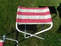 Retro camping stools. VW camper?