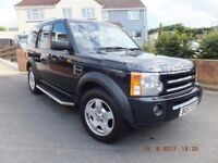 Land Rover Discovery 3 TDV6 XS 2.7 Diesel Manual 7 Seater