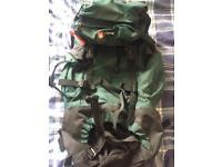 Hi Gear Nepal 65 Backpack x4