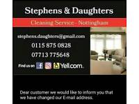 S&D Cleaning Service, No obligation ,home or workplace visit. Competitive & Affordable price