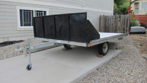 Tiltdeck ATV Snowmobile Trailer