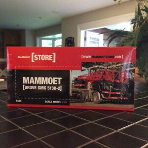 Mammoet Grove GMK 5130-2, 5 Axle Mobile Crane Diecast Scale 1:50