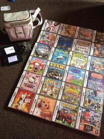 Ds Bundle with 24 games and case