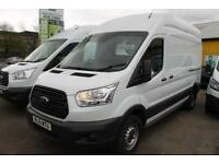 2015 FORD Transit 350 H/R 124 BHP Finished In White (Manual),
