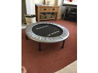 Reebok indoor exercise trampoline