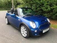 2008 MINI COOPER S 1.6 SUPERCHARGED CONVERTIBLE 6 SPEED MANUAL