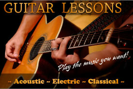 Skype Guitar Lessons / Tailored lessons UK-wide