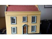 Very large handmade dolls house for sale