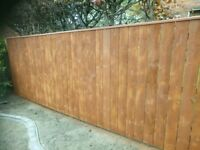 "Fencing , decking ,garden sheds, somer houses ""OAK LEAF"""
