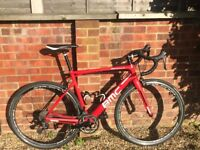 BMC Team Machine SLR03 Road Racer Bike With Upgrades Fulcrum Wheels!