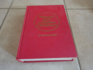Webster's New Collegiate Dictionary English Hardcover