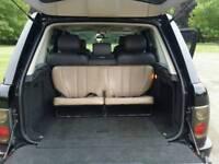 Rare Range rover l322 2002+ 7 seater rear bench conversion