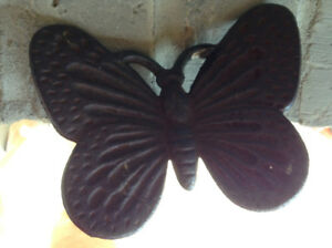 Metal butterfly on post for sale