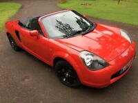 Toyota mr2 roadster brand new m.o.t