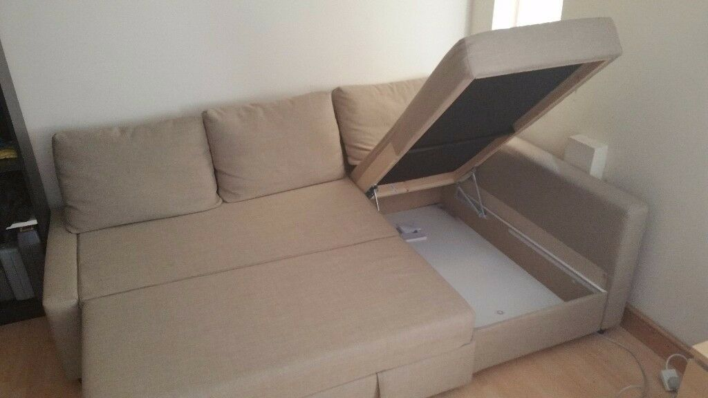 Ikea Friheten Sofabed Skifto Beige Very Good Condition 163 250 Ono In Forest