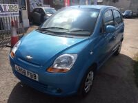 CHEVROLET MATIZ1.0 SE+ 5 DOORS PETROL MANUAL LOW MILEAGE 65K