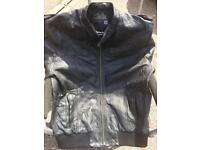 Bench genuine 💯% Leather jacket XL BARGAIN💥£40💥