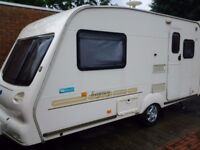 1999 bailey regency 2 berth caravan