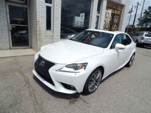 2014 Lexus IS 250 AWD BACKUP CAMERA LEATHER SUNROOF