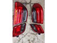 E class rear lights