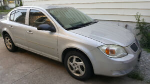 2005 Pontiac Pursuit Silver Sedan