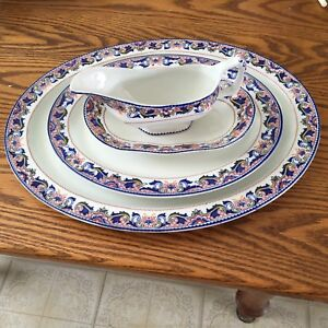Rare vintage pattern Rouen Enoch Woods & Sons England Cira about