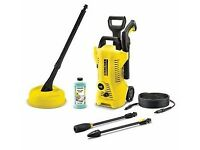 Karchers K2 premium full Control Car & Home pressure washer. Bought new and only used once for trial