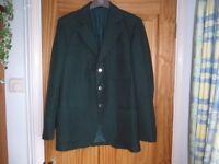 Green jacket