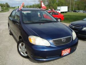2005 Toyota Corolla CE Only 98km Power Windows