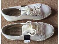 BNWT Next White Pumps - Cost £18 - Selling At £6