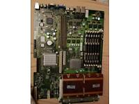 HP DL140 G3 Mainboard with 2x Xeon E5345 processors and 24GB RAM
