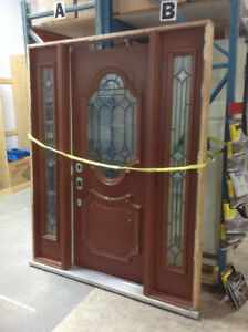 Prehung Exterior Door with Sidelights