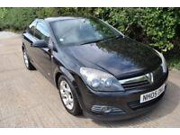 Vauxhall Astra SXi Sport 1.4 Manual Black 3 Door Full Service History Cheap Car