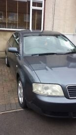 Audi a6 2.5 tdi v6 sale my car due to compney van no need car more £1000 ono