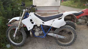 Yz 250 for trade for a 4 wheeler