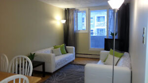 1br - ALL INCL., FURN., DOWNTOWN, SUSSEX, BYWARD MKT, AUG. 1ST