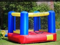 Jumpking / Jump King 6ft x 6ft bouncy castle