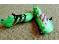 Adidas ace 16.1 primeknit sg sock football boots men's green
