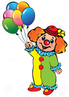 CLOWNS FOR TODDLERS - BEST PRICE!