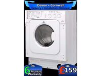 Built In Indesit Washer Dryer, Top Spec, Auto Dry, 6+5Kg, Fully Refurbished inc 6 Months Warranty