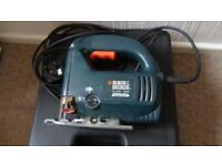 Black and decker jigsaw ,planer ,drill ,heat gun /see the prices