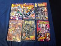 Image Stormwatch comics x6 1993-95