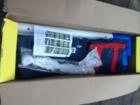 NEVER USED ONE 6ft X4ft GOAL POST WITH BAG IN BOX